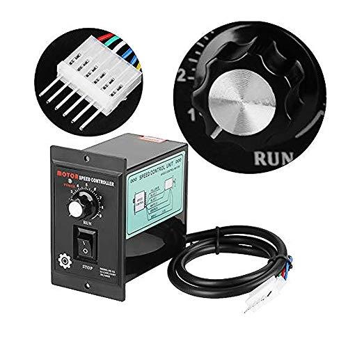 Controlador de velocidad del motor 400 W AC 220 V Motor Velocidad Pinpoint Regulador hacia adelante hacia atrás Gobernador Práctica