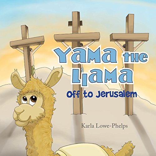Yama the Llama: Off to Jerusalem cover art