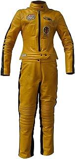 uma thurman yellow suit