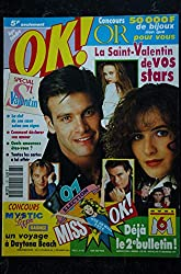 OK ! âge tendre 787 11 au 17 fév. 1990 Roch Voisine ELSA Vanessa Paradis Jeanne MAS