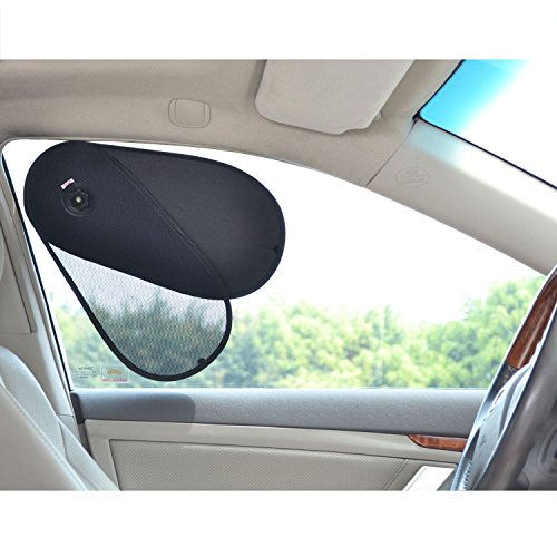 TFY Car Window Sunshine Blocker Sun Shade Protector for Baby & Kids - Fit Most of Vehicle, Most of Sedan, Ford, Chevrolet, Buick, Audi, BMW, Honda, Mazda, Nissan and Other