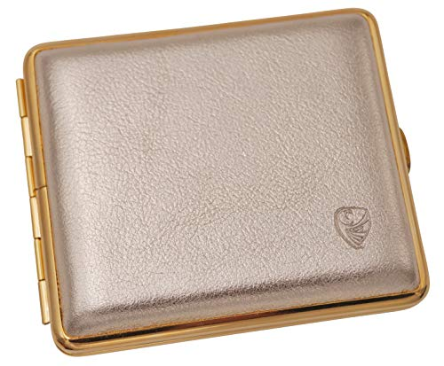 GERMANUS Damen Etui für die Handtasche, Gold - Made in Germany