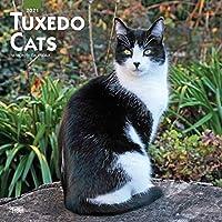 タキシード柄のねこ Tuxedo Cats 2021 カレンダー ネコ 猫