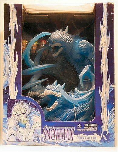 Evil Snowman  Blau Variant  AVATAR Press Deluxe Box Set 1998 tion steht & Accessories
