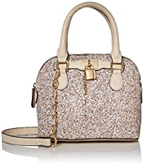 "Satchel for women Synthetic material Removable Crossbody strap Bag Dimensions: 9"" W x 7"" H x 5"" D"