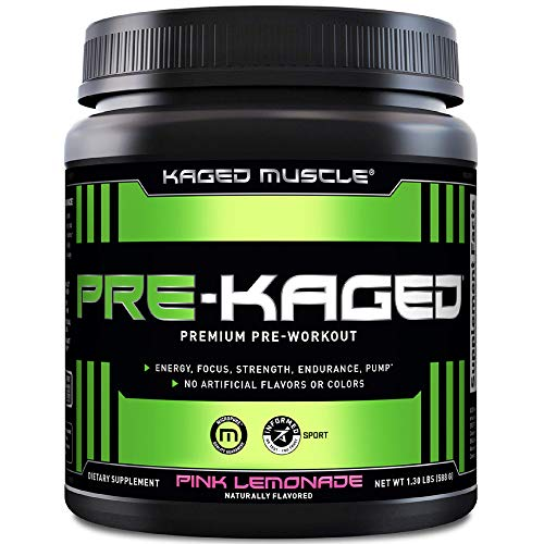 Kaged Muscle Pre-Kaged 20 Servings Pink Lemonade