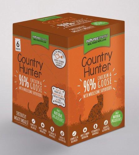 Country Hunter Natures Menu Torba na żywność dla kota kurczak i gęś 3 x (6 x 85 g)