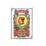 BELTI 50 unids/Set Naipes españoles Accesorios mágicos Juegos de Mesa para Fiestas Familiares Tarjeta de póquer