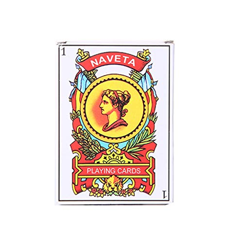 Buy Bargain Rockrok Playing Cards, Spanish Playing Cards Props Family Party Board Games