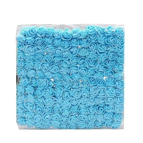 Zestaw 144 szt. Kreatywny ręcznie robiony sztuczny kwiat róży dla sztuki i rzemiosła Float dekoracji stroik ślubny pianka zestaw do bukietu diy ślub Diy bukiet dostaw ślub y Rose Diy bukiet