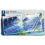 ステッドラー 色鉛筆 カラトアクェレル 水彩色鉛筆 60色 125 M60