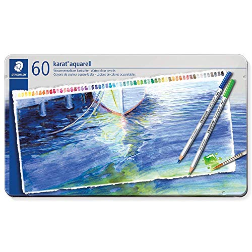 Staedtler Karat Aquarell Workshop 60 Watercolour Pencils