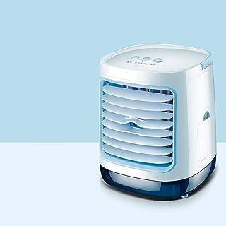 Aire acondicionado Personal, Mini portátil, enfriamiento pequeño, Mini refrigerador de Aire, Ventilador de Escritorio de 3 velocidades para el hogar y la ofi