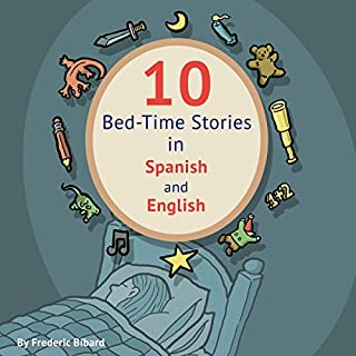 10 Bed-Time Stories in Spanish and English audiobook cover art