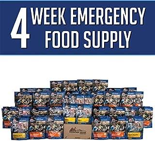 MOUNTAIN HOUSE FREEZE DRIED FOOD, 4 WEEK FOOD STORAGE KIT- Variety Pack, 200 Servings- Emergency Food. Perfect For: Emergency Preparedness, Camping Food, Earthquake Kits, Hiking, Food Storage,MRE Meal