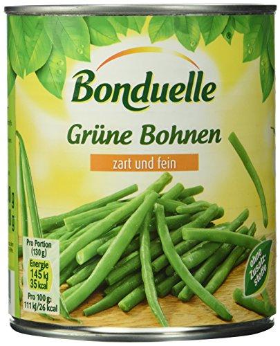 Bonduelle Grüne Bohnen zart und fein, 800 g