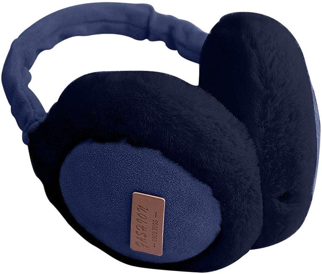 BCDlily Unisex Bluetooth Listening Music Earmuff Ear Protectors Smart Ear Muffs Earmuffs Ear Cover