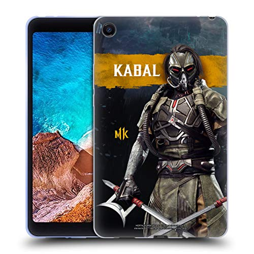 Official Mortal Kombat 11 Kabal Characters Soft Gel Case Compatible for Xiaomi Mi Pad 4