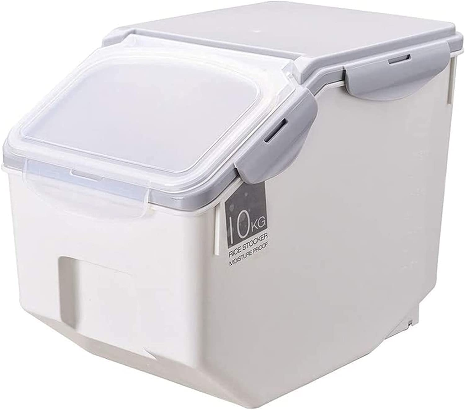 Containers for Max 64% OFF food Rice Bucket Bargain sale Storage Sealed Box Plastic