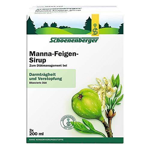 Schoenenberger Manna-Feigen-Sirup Darmträgheit und Verstopfung, 600 ml Lösung
