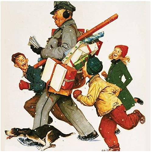 Norman Rockwell Memorable Images 2021 Lightweight Wall Calendars by Yellofinch 10 5 x 18 25 product image