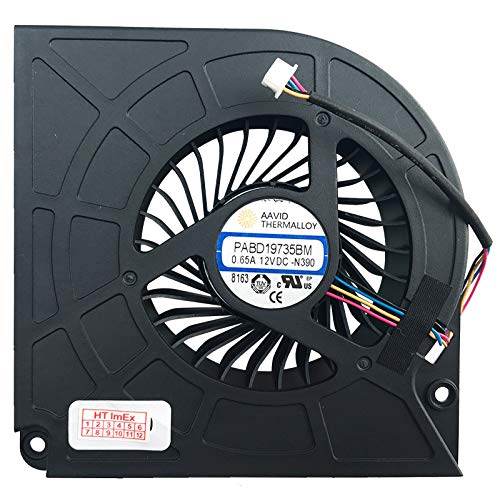 CPU Version Fan Cooler Compatible with MSI GT75 8RG-089, GT75 Titan-013, GT75 9SG-275, GT75VR 7RE-093, GT73VR 6RE4K32SR451, GT73VR 7RF-298