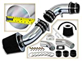 Rtunes Racing Short Ram Air Intake Kit + Filter Combo BLACK Compatible For 95-97 Ford Ranger / 95-97 Mazda B2300 2.3L L4