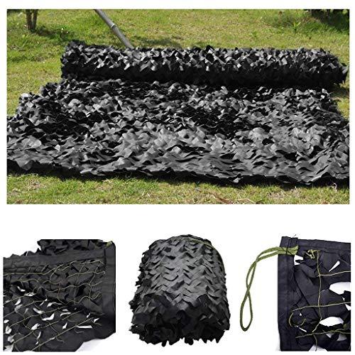 JYAJ Sun Shade Netting Black, Woodland Camouaflage Netting Camo Netting Truck Sun Sails For Camping Military Hunting Shooting Multicolor Sunscreen Nets 2m 3m 4m 5m 6m 7m 8m 10m 12m