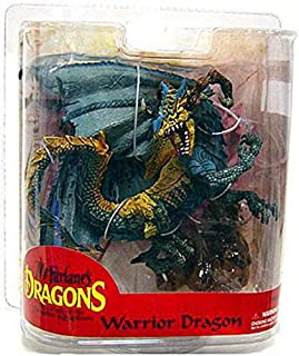 McFarlane Toys Dragons Series 7 Action Figure Warrior Dragon Clan [Exclusive Paint Variant]