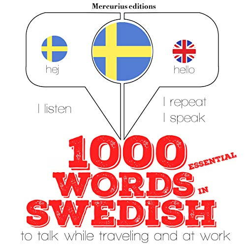 1000 essential words in Swedish  By  cover art