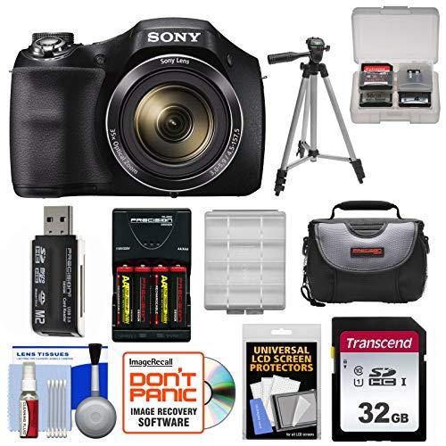 Sony Cyber-Shot DSC-H300 Digital Camera with 32GB...