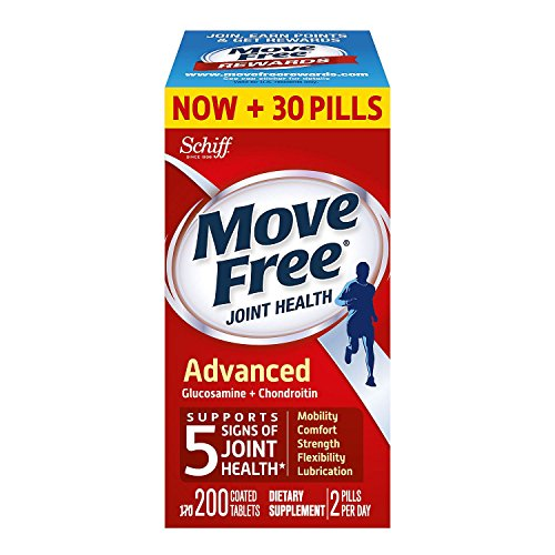 Move Free Advanced Plus MSM and Vitamin D (200 Count) lllIII