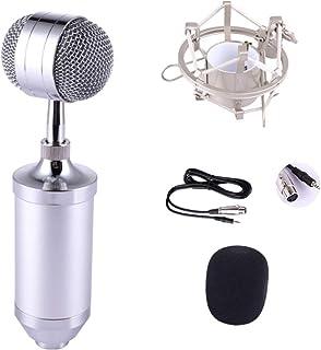 Juego De Micrófono De Condensador, Tarjeta De Sonido En Vivo Juego De Micrófono Micrófono De Condensador Anclaje Micrófono...