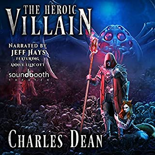 The Heroic Villain audiobook cover art