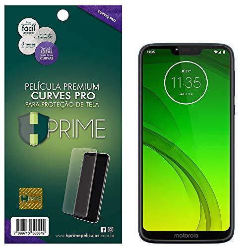Pelicula Curves Pro para Motorola Moto G7 Power, Hprime, Película Protetora de Tela para Celular, Transparente