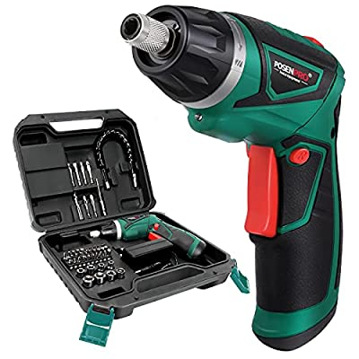 POSENPRO Cordless Electric Screwdriver, 7.2V Rechargeable Power Screwdriver with 48 pcs Accessories, Screw Gun with 6+1 Torque Setting & Twistable Handle for Home DIY, BMC Packing - PCCS24GU from Lanneret E-Commerce Co., Ltd
