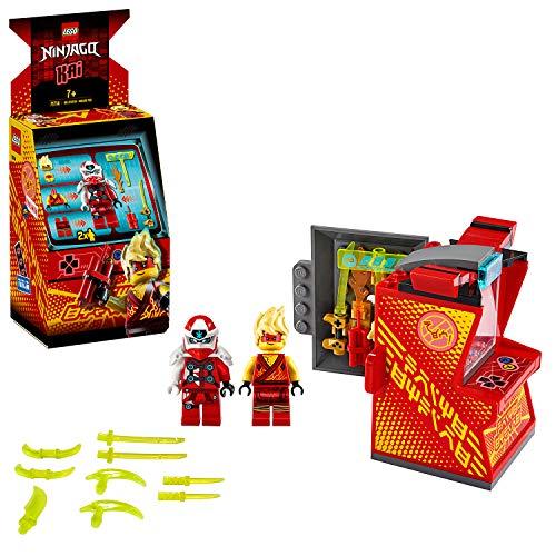LEGO 71714 NINJAGO Avatar Kai – Tragbare Arcade Kapsel, Ninja-Spielzeug für Kinder