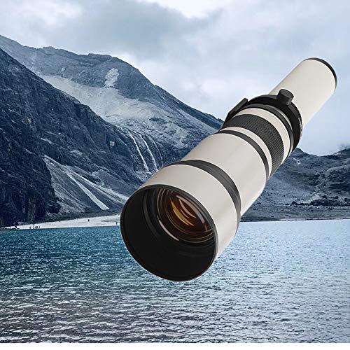 650-1300mm F8.0-16 Super Teleobjetivo Zoom Lente y...