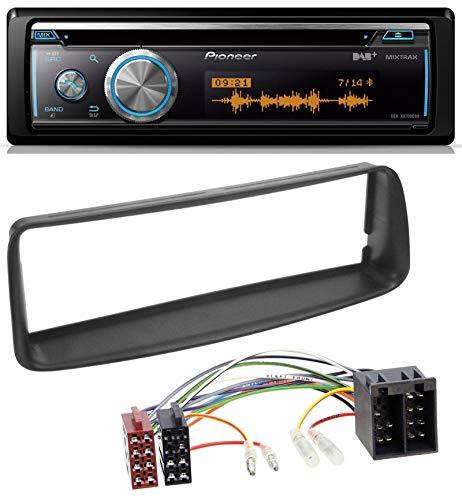 caraudio24 Pioneer DEH-X8700DAB MP3 DAB USB CD Bluetooth Autoradio für Peugeot 206 (ab 1998)