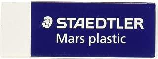 3 x Staedtler Mars Latex-Free Eraser, White, 1 Pack