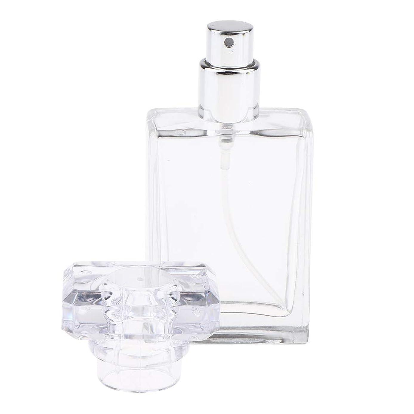 達成するカウンタトンネルCUTICATE 香水瓶 アロマボトル 香水 小分けボトル ガラス製ボトル 30ミリリットル 全2色選択 - クリア