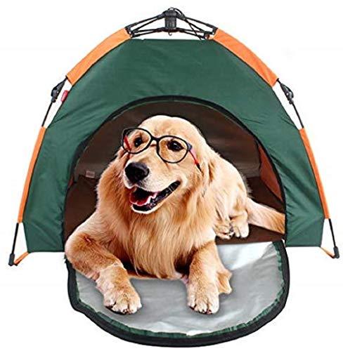 Lizipai Outdoor Camping Zelt für Hunde, Katzen & Haustiere, faltbar, tragbar, wasserdichtes Haus, Sonnenschutz für Tiere, Haustiere