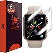 Skinomi - Apple Watch Series 5 (44 mm) Displayschutzfolie (6er Pack)