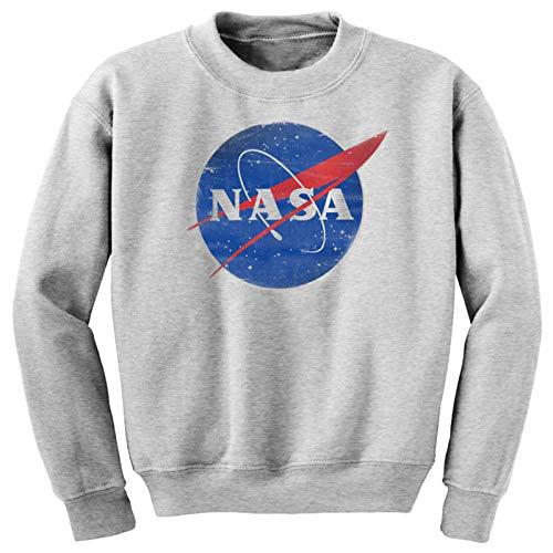 Sudadera NASA Enterprise USS Star Trek The Big bang Theory con nave espacial gris gris L