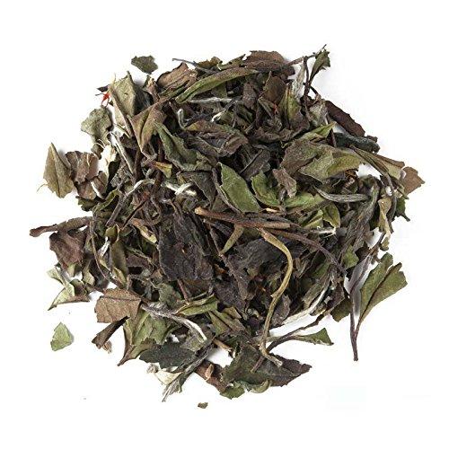 Aromas de Té - Té Blanco Pai Mu Tan Chai a Granel con Canela, Anís, Jengibre, Pimienta Negra, Clavel, Achicoria, Cardamomo y Cártamo, 30 gr