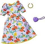 Barbie Conjunto de Vestido de Flores Mattel GHW84   Moda de Muñeca