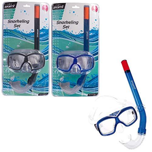 Sportx - 0768005 - Aide À La Nage - Junior Set Snorkeling Comfort