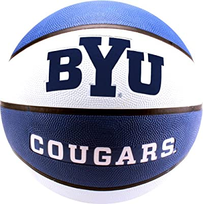 Baden BRSK7-2400 NCAA BYU Cougars Collegiate Deluxe Official Dimensions Rubber Basketball