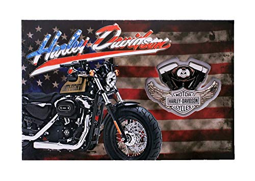 Harley-Davidson Amarican Bike Pin & Card Set