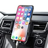 Car Phone Mount, Vent Cell Phone Holder, 3-Level Adjustable Car Mount, Upgrade Air Vent Phone Holder Clamp Arm, Mobile Phone Mount Compatible iPhone 11 Pro MAX/XS MAX/XR/XS/X/8/7/6 Plus etc